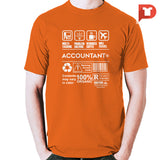 Accountant V.50 Round-neck Tee