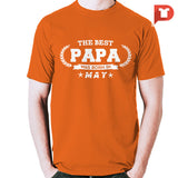 The Best Papa was born in May V.B5 Cotton Tee