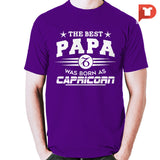The Best Papa was born as Capricorn V.C1 Cotton Tee