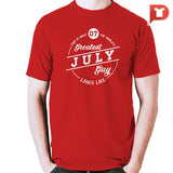 July V.87 Cotton Tee