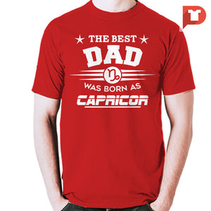 The Best Dad was born as Capricorn V.C1 Cotton Tee