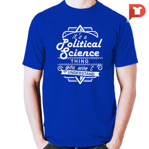 Pol Sci V.52 Cotton Tee