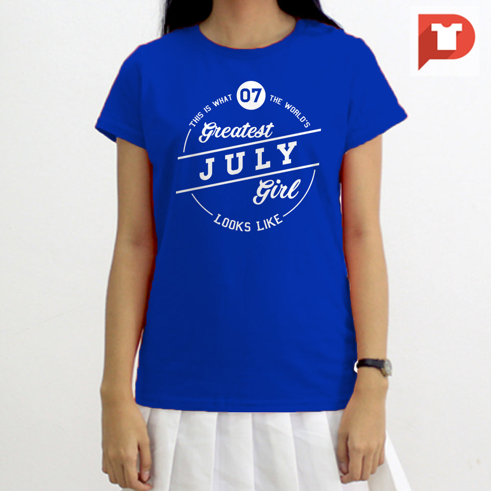 July V.86 Cotton Tee