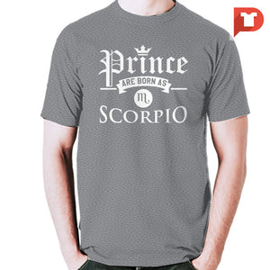 Prince are born as Scorpio V.85 Cotton Tee