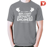 Aeronautical Engineer V.25 Tee