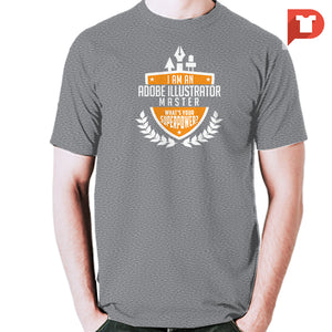 Adobe Illustrator Master V.WD Tee