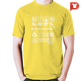 Bookkeeper V.50 Round-neck Tee