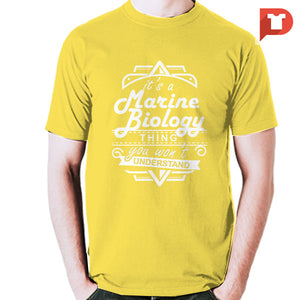 Marine Biology V.52 Cotton Tee