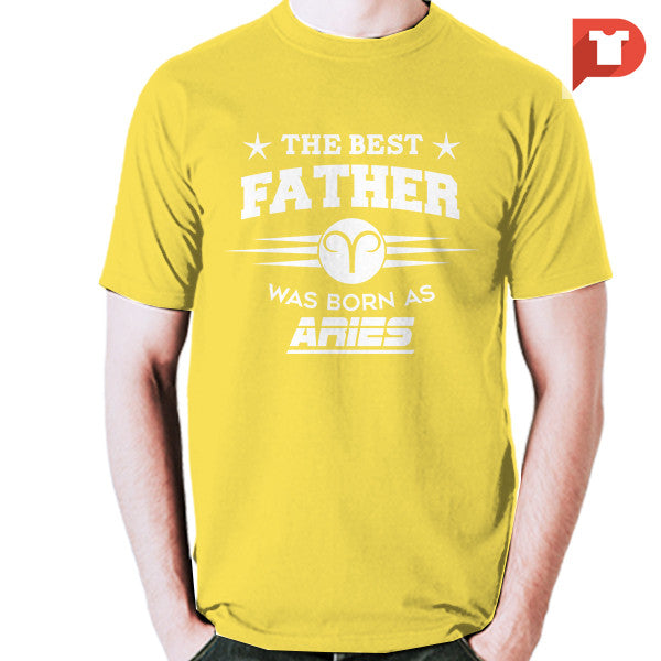 The Best Father was born as Aries V.C4 Cotton Tee