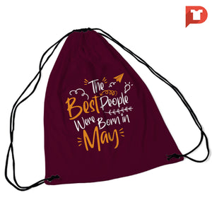 May V.GD String Bag