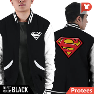 Superman V.F4 Varsity Jacket