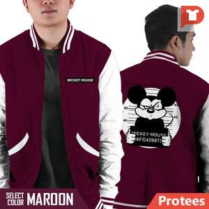 Mickey Mouse V.B8 Varsity Jacket