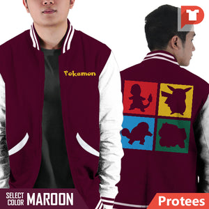 Pokemon V.AQ Varsity Jacket