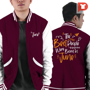 June V.GE Varsity Jacket