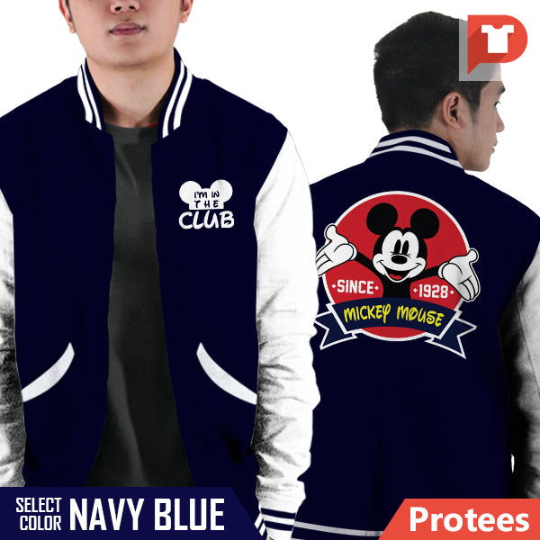 Mickey Mouse V.F6 Varsity Jacket