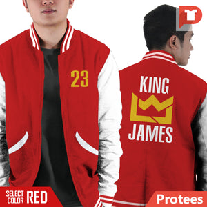 Lebron James V.X6 Varsity Jacket