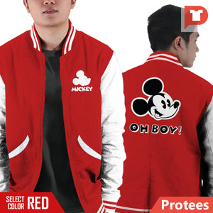 Mickey Mouse V.F8 Varsity Jacket