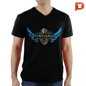 League of Legends V.CJ V-neck