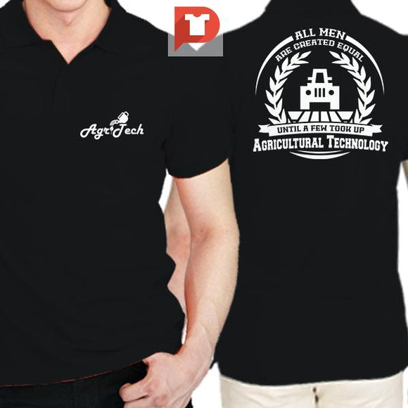 Agricultural Technology V.53 With Collar Tee (Polo)