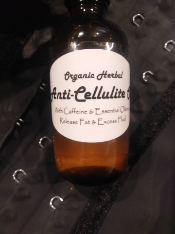 Organic Anti-cellulite Oil with caffeine