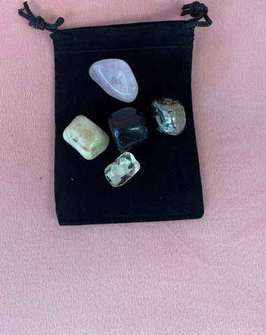 Mercury Retrograde Crystal Set