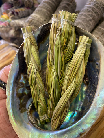 Sweetgrass 4 inch