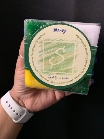 Money Candle Gift Set