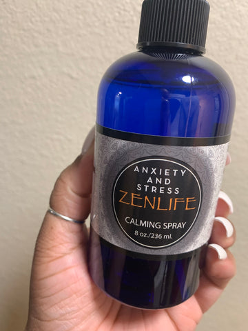 Anxiety and stress calming spray