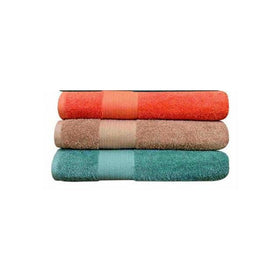 Set Of 3 Large Size Cotton Towels - M2