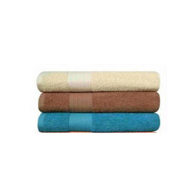 Set Of 3 Large Size Cotton Towels- M1