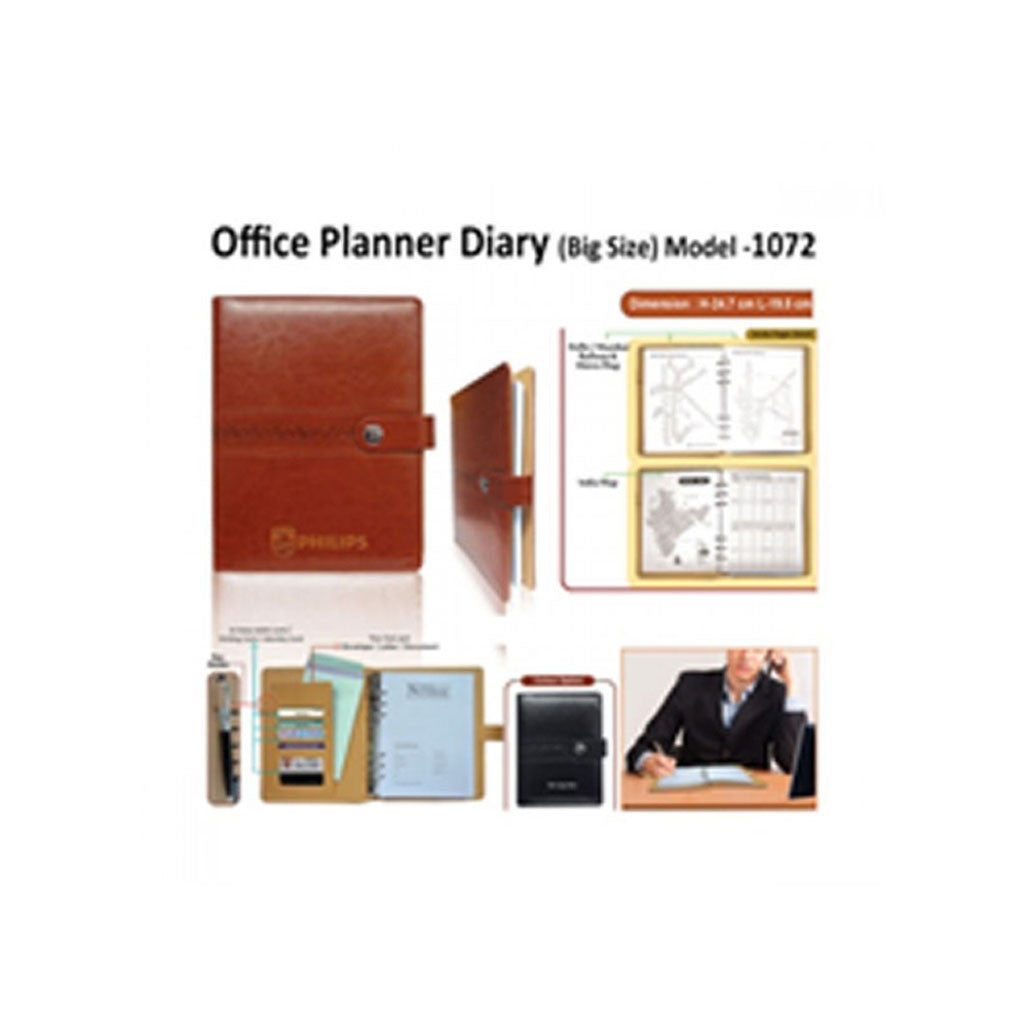 Leather Office Planner ( Big ) Gs H-1072
