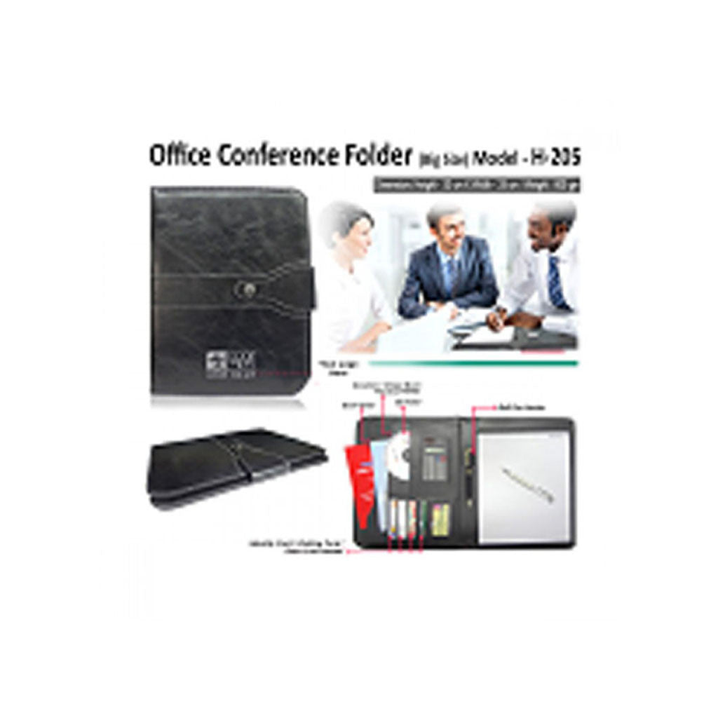 Leather Conference Folder GS H-205