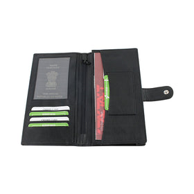 Passport & Cheque Book Holder (KRCB203-BK)