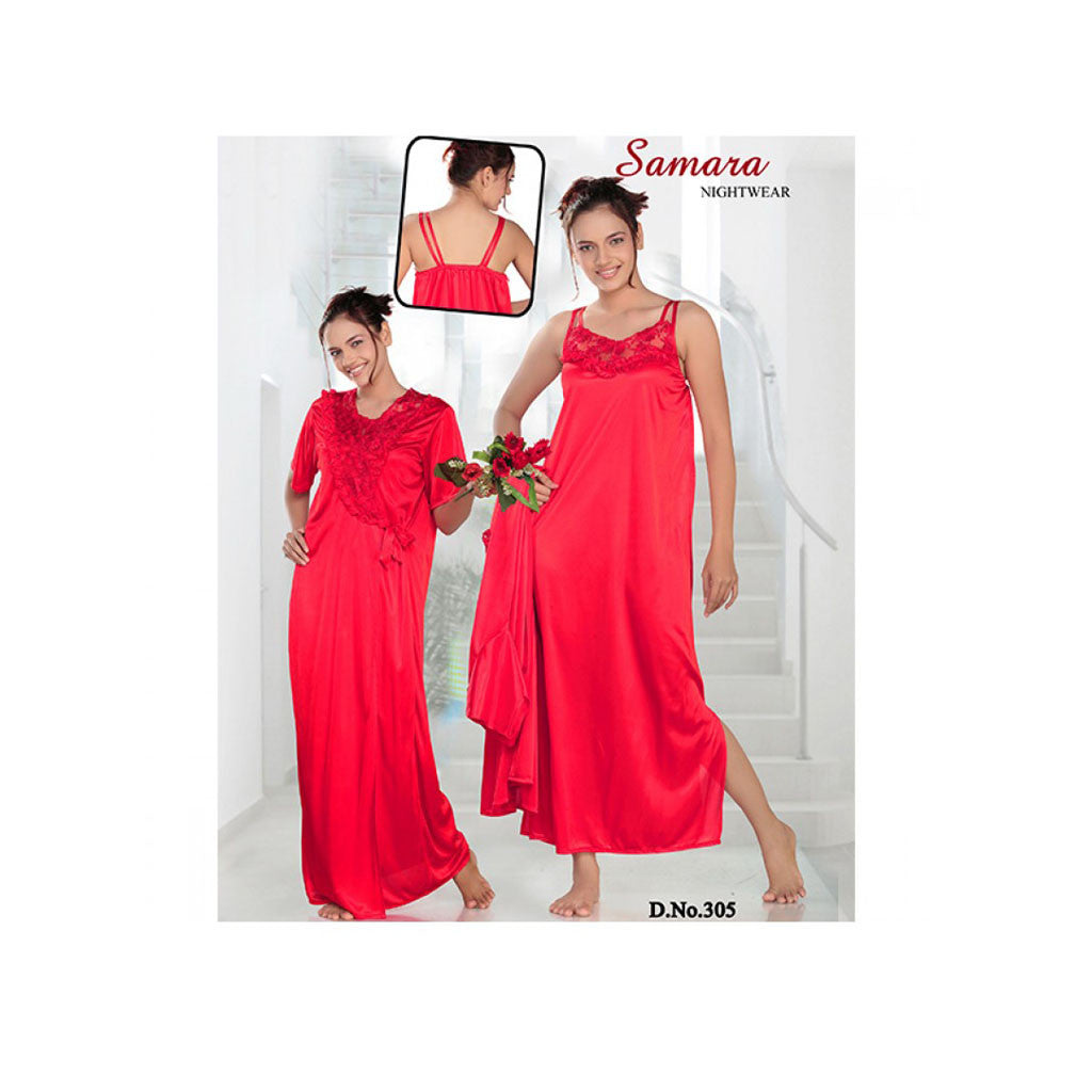 Set Of 2 Ladies Night Wear M.No 5