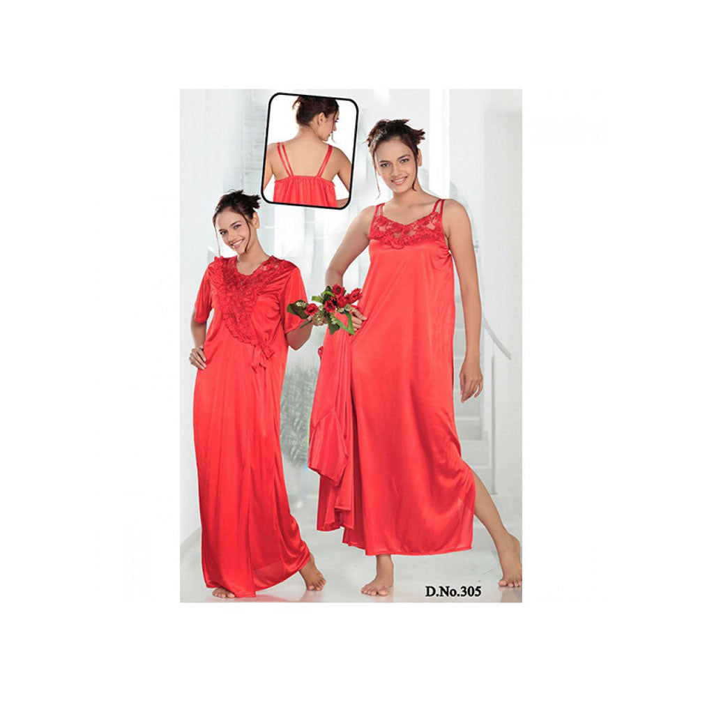 Set Of 2 Ladies Night Wear M.No 6