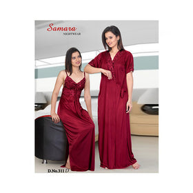 Set Of 2 Ladies Night Wear M.No 10