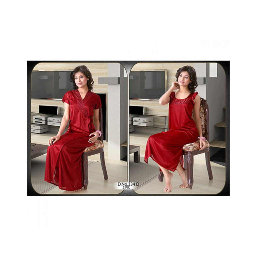 Set Of 2 Ladies Night Wear M.No 27