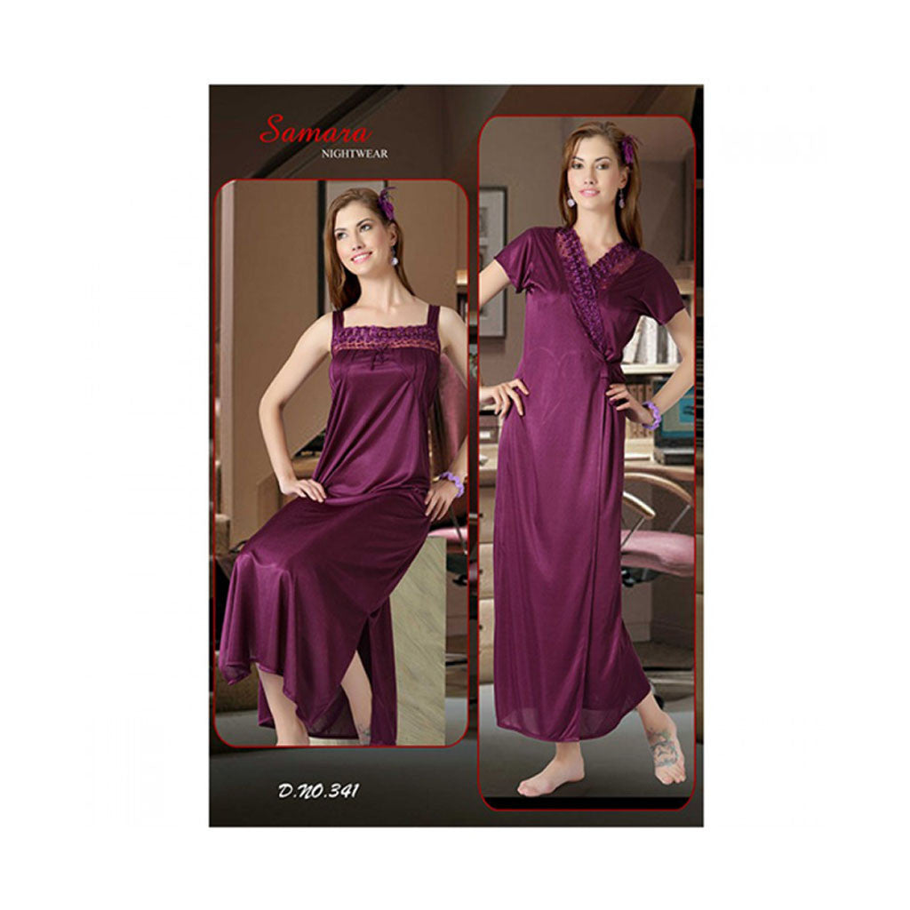 Set Of 2 Ladies Night Wear M.No 35