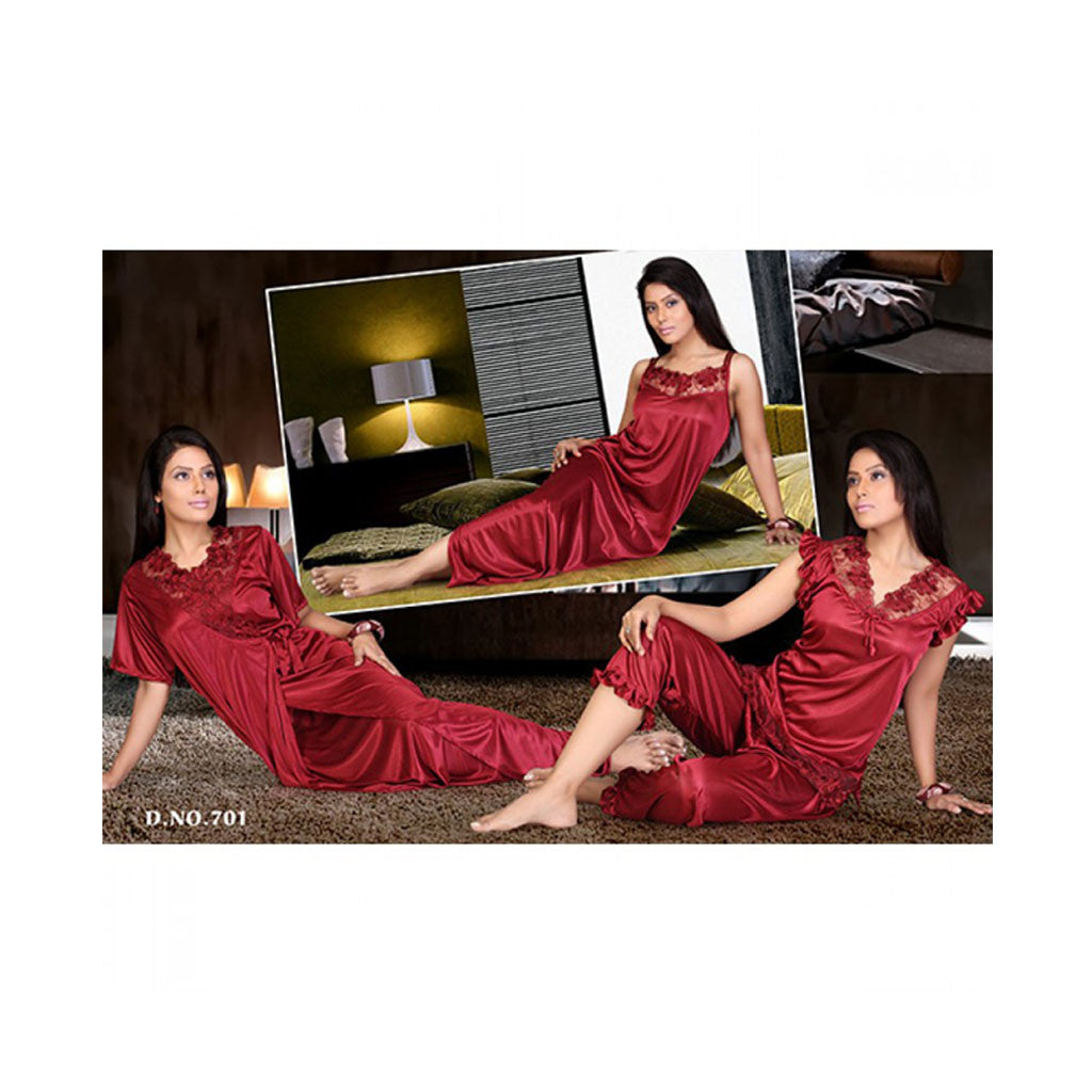 Set Of 6 Ladies Night Wear M.No 1