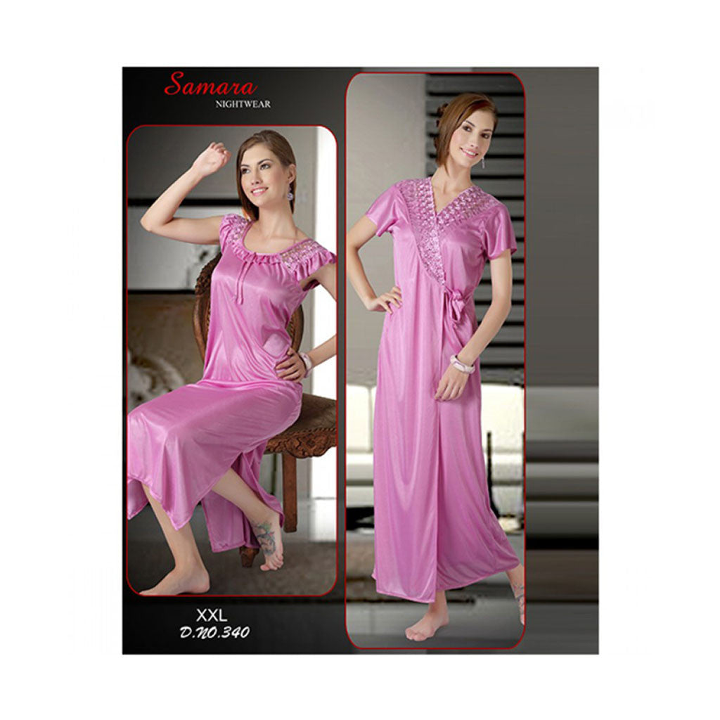 Set Of 2 Ladies Night Wear M.No 49