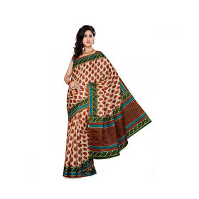 Bhagalpuri Art Silk Printed Saree With Blouse Piece -M.No 2