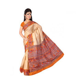Bhagalpuri Art Silk Printed Saree With Blouse Piece -M.No 10