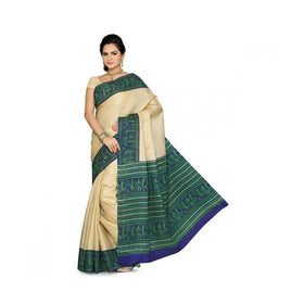 Bhagalpuri Art Silk Printed Saree With Blouse Piece -M.No 12