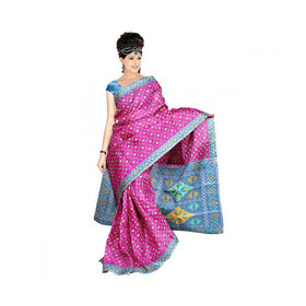 Bhagalpuri Art Silk Printed Saree With Blouse Piece -M.No 20