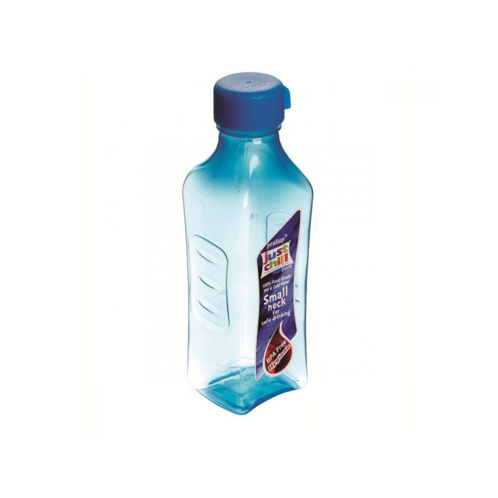Just Chill Water Bottle Square Medium (Big Neck)