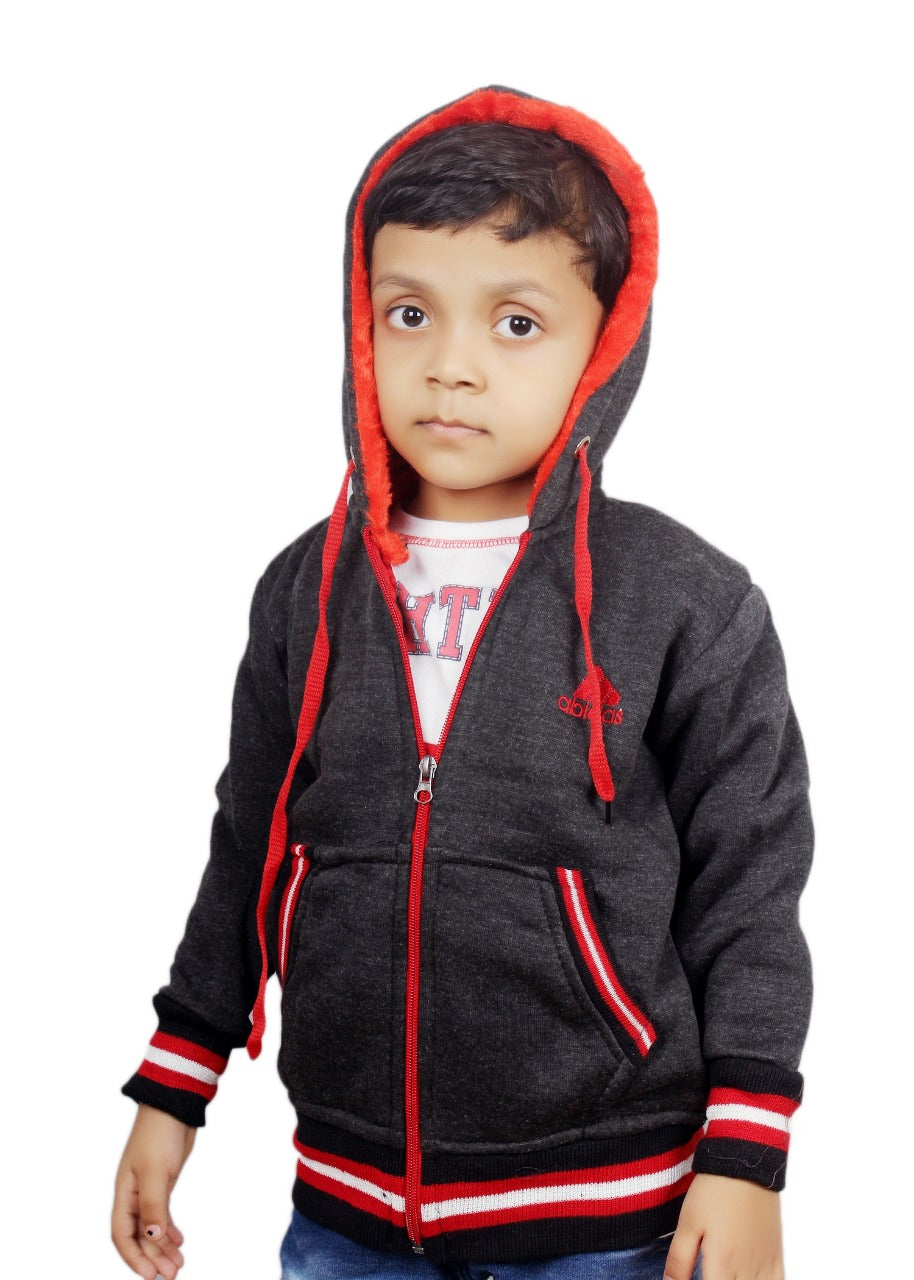 Cotton Fleece Jacket for Boys