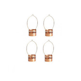 Pack Of 4 Hanging Candle Holder