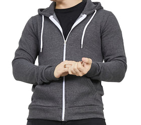 Men's Hooded Zip Front Sweatshirt