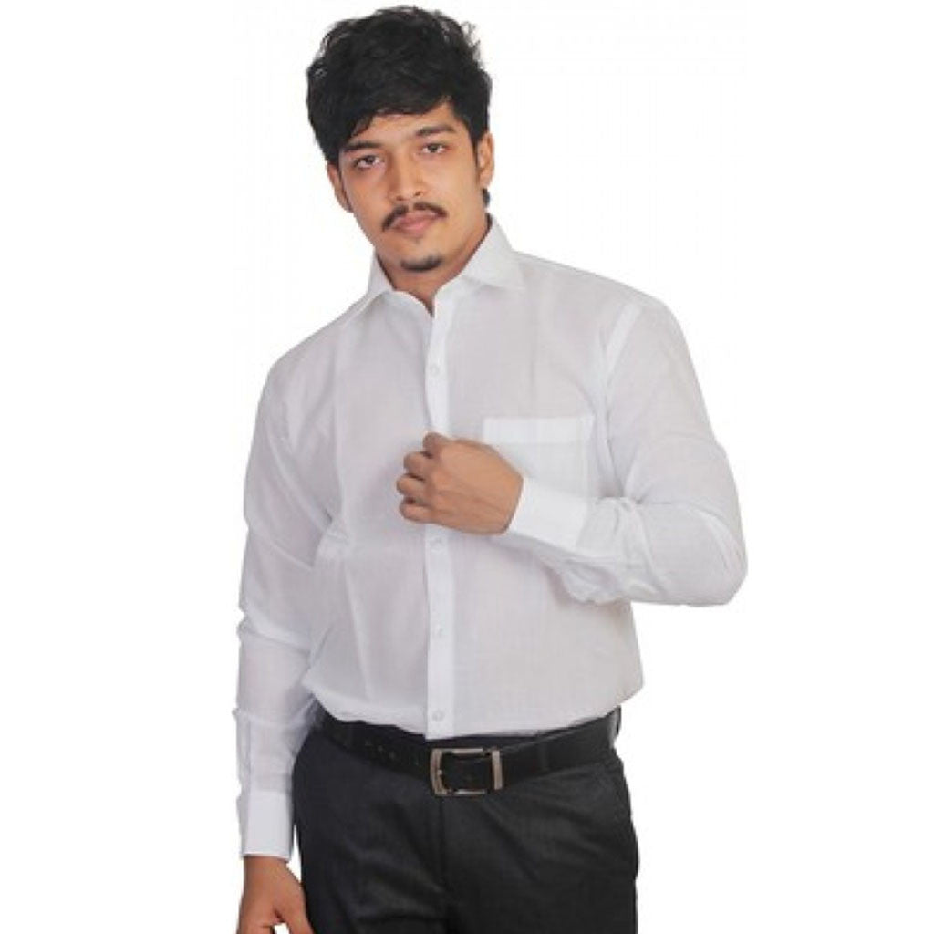 Grhk Men'S Solid Formal Shirt