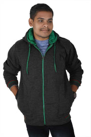 Cotton Blend Hoodie Sweatshirt For Mens